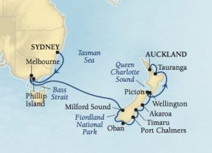 Syd to Akl map